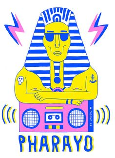 Pharayo T-Shirt #Illustration by Mister Jango Jim