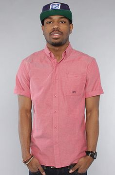Salmon Pink Mens Shirt Custom Shirt