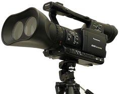 Panasonic developing 1080p twin-lens P2 ca