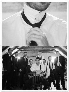 A pretty DIY farm wedding with rustic details captured by Sam Stroud Photography. Groomsmen Poses, Groom And Groomsmen Attire, Rustic Country Wedding Decorations, Samantha Wedding, Groom Getting Ready, Colorado Wedding Venues, Wedding Poses, Wedding Ideas, Wedding Dresses