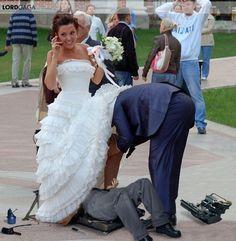 #damaged #bride #mechanic