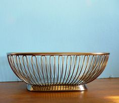 Alessi Square Wire Fruit Bowl 4060 by embeehat on Etsy, $40.00