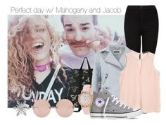 """Perfect day with Mahogany and Jacob"" by selda2424 ❤ liked on Polyvore featuring мода, Topshop, Mint Velvet, MANGO, Kate Spade, Converse, Van Cleef & Arpels, Linda Farrow, women's clothing и women"