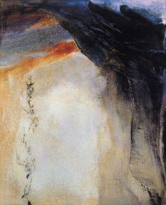 Zao Wou-Ki (1920-2013) ~ Oil on Canvas 1995 ~ 200 x 162 cm