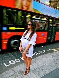 Miroslava Duma embarazada. Ideas para ser una embarazada con estilo: http://www.stylesyoulove.es/guia/ropa-de-premama-guia-embarazada-con-estilo