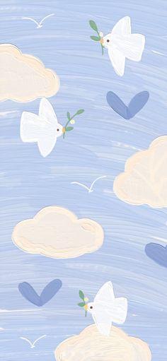 Minimal Wallpaper, Pop Art Wallpaper, Cute Pastel Wallpaper, Graphic Wallpaper, Iphone Wallpaper Tumblr Aesthetic, Cute Patterns Wallpaper, Iphone Background Wallpaper, Painting Wallpaper, Aesthetic Pastel Wallpaper
