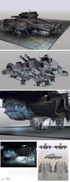 Alien_Isolation_Concept_Art_BW_anesidora_concept-sheet