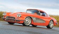 1959 Chevrolet Corvette Orange Plus