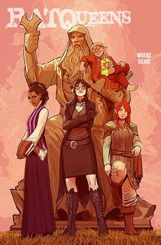 Rat Queens by Stjepan Sejic *