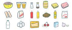 receitas de micro-ondas - vitor martins | ilustrador