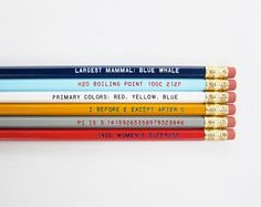 These would be cool for my students to use in my classroom.  Borrow a pencil, learn something.
