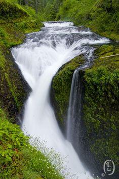 Twister Falls, Columbia River Gorge, Oregon