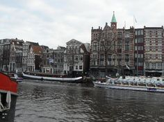 Amsterdam, Nederland: Rondvaart over de Amstel .