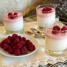Italian Food Forever » Lavender Panna Cotta With Raspberry Cream