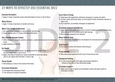 The double sided handout cards of First Aid Essential Oils & 21 Ways to use them has the first aid guide on one side and 21 ways to use them on the other side. Young Living Oils, Young Living Essential Oils, Essential Oils Guide, Roman Chamomile, Insect Bites, First Aid, Medicine Cabinet, Peppermint
