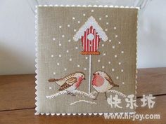 Small winter design, perfect for a pinkeep
