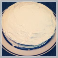 Recipe: Vegan Buttercream Frosting. It is not necessarily healthy, but very yummy.