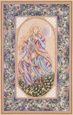 Night by Teresa Wentzler - cross stitch