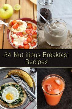 54 Nutritious Breakfast Recipes at www.masalaherb.com/.