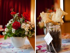 flowers & MN pie on a stick - Becca Dilley