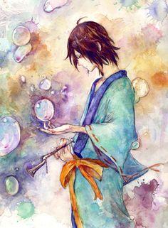 utakata six tails | ... of Utakata, one of the jinchuriki of Naruto (the 6 tails-Saiken