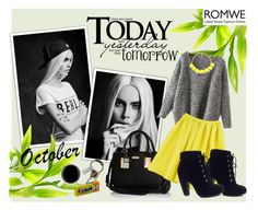 Romwe contest by jasmina-fazlic on Polyvore featuring Bamboo, River Island and CB2