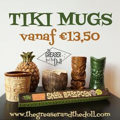 Tiki Mugs - The Greaser and the Doll webshop
