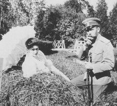 Empress Alexandra and Emperor Nicholas II of Russia