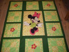 Free pattern for adorable quilt -- even if you skipped Minnie but she even includes how to get the Minnie pattern! Awesome.