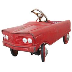 Vintage Pedal Car very similar to the one I rode for hours everyday at my Nans house :)