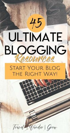 Are you interested in starting a blog? This post will teach you how to start a blog and provide a comprehensive list of the blogging resources and tools that you need to start it the right way! Get a list of the best courses that can help you start the right way, and the tools that enable success. Travel blogging is a lot of fun, and can be highly rewarding as a hobby or side or full-time gig. #bloggingtips #bloggingtools
