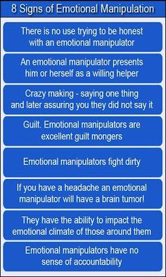 Signs of a manipulative woman