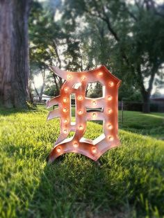 Plug in Detroit Tigers Old English 'D' Lightup by marqueemarket