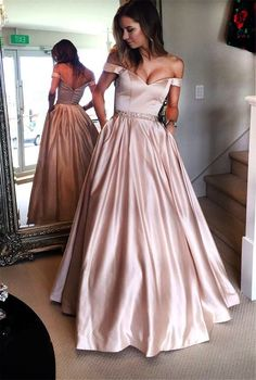 Pink Prom Dress, A-Line Prom Dress, Simple Prom Dress, Prom Dress Long, Prom Dress Prom Dresses Long Senior Prom Dresses, Prom Dresses 2017, A Line Prom Dresses, Cheap Prom Dresses, Pageant Dresses, Evening Dresses, Formal Dresses, Graduation Dresses, Prom Gowns
