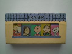 Sanrio Hallmark Peanuts Snoopy Mini Eraser Set Japan- B