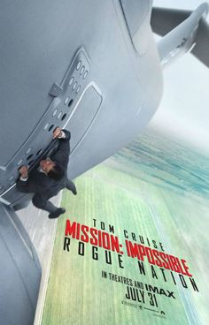 Directed by Christopher McQuarrie, Mission: Impossible - Rogue Nation stars Tom Cruise, Simon Pegg, Jeremy Renner and Ving Rhames, Rebecca Ferguson and Alec Baldwin. Check it out: Streaming Movies, Hd Movies, Movies To Watch, Movies Online, Hd Streaming, 2015 Movies, Action Movies, Cinema Movies, Latest Movies