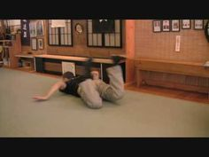Combat Systema Back Roll