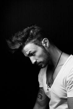 #tattoo #mohawk #hair edgy look   http://www.varinsalon.com/