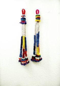 by RareFindingsUS on Etsy Making Tassels, How To Make Tassels, Diy Tassel, Beaded Jewelry, Vintage Jewelry, Jewelry Making, Buy And Sell, Costume, Boho