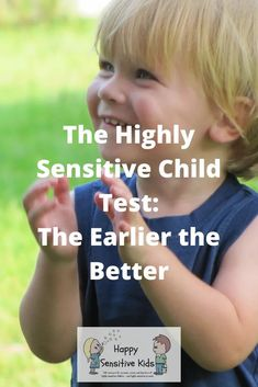 The Highly Sensitive Child Test