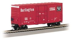 This Chicago Burlington & Quincy HI-Cube Box Car N scale rolling stock is now shipping in clear plastic boxes for display and storage convenience. Click http://www.livelocomotion.com/product/BAC71266 to get your Hi-Cube Box today for $14.50.