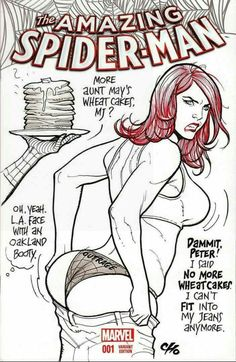 """Amazing Spider-Man #1 Variant cover Frank Cho """"Outrage"""""""