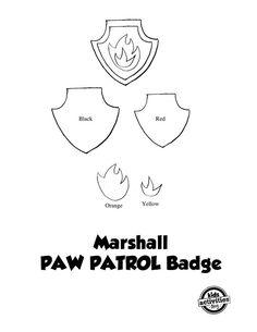 No-Sew PAW Patrol Marshall Costume                                                                                                                                                     More