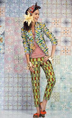 Stella Jean SS 14 #african #print
