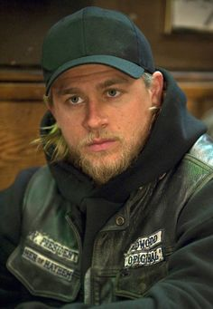 Charlie Hunnam...Jax on Sons of Anarchy. Ok no, i havent met him. Can somebody PLEASE help me do that! Please?