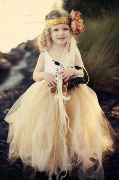 Couture Decadence Fall Tulle Butterfly SkirtStunning for Portraits & Weddings!