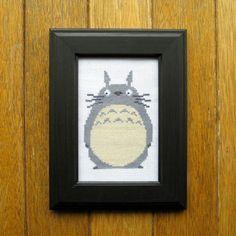 PATTERN My Neighbor Totoro Totoro Cross Stitch by WistfulBird, $4.00