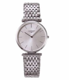 Longines L47094726 La Grande Classique Stainless Steel Mens Watch  Silver Dial >>> Read more  at the image link.