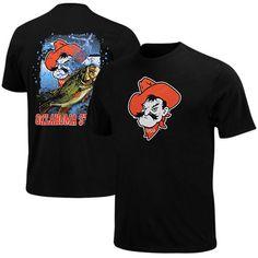 Majestic Oklahoma State Cowboys Bringing It Home T-Shirt - Black - $10.99