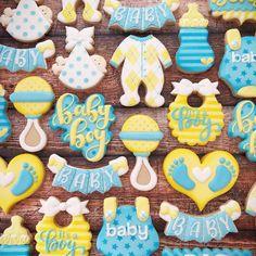 Baby Love . . . . . . . . . . .#decoratedcookies #customcookies #royalicing #cookies #cookiesofinstagram #eeeeeats #food52 #f52grams… Baby Shower Duck, Boy Baby Shower Themes, Baby Shower Parties, Royal Icing Cookies, Sugar Cookies, Cookies Et Biscuits, Baby Boy Cookies, Baby Shower Cookies, Cookie Designs